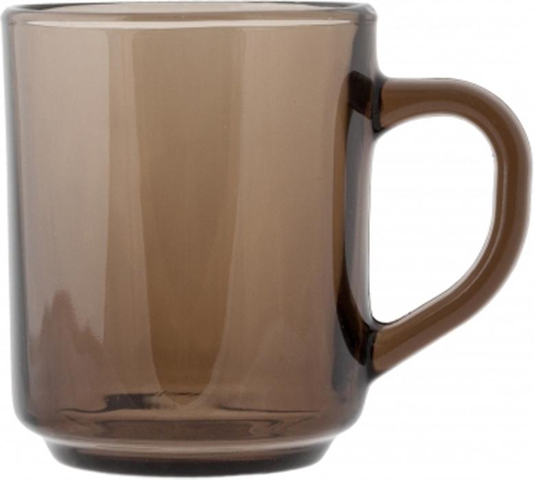 """Кружка Luminarc """"Марли Эклипс"""" изготовлена из упрочненного стекла. Такая кружка прекрасно подойдет для горячих и холодных напитков. Она дополнит коллекцию вашей кухонной посуды и будет служить долгие годы. Можно использовать в посудомоечной машине и микроволновой печи. Объем кружки: 250 мл."""