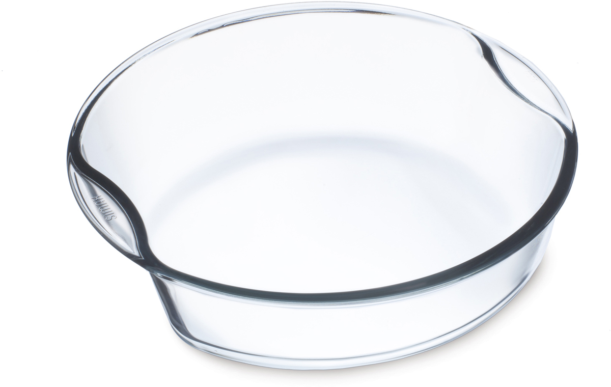 """Круглая форма для выпечки Simax """"Exclusive"""" изготовлена из термостойкого боросиликатного стекла. Форма будет отличным выбором для всех любителей блюд, приготовленных в духовке и микроволновой печи. Стеклянное изделие не вступает в реакцию с готовящейся пищей, а потому не выделяет никаких вредных веществ, не подвергается воздействию кислот и солей.Можно мыть в посудомоечной машине.Изделие можно хранить в холодильнике и морозилке.Диаметр: 23,5 см."""