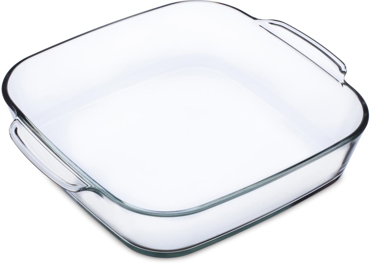"""Квадратная форма для выпечки Simax """"Classic"""" изготовлена из термостойкого боросиликатного стекла. Форма будет отличным выбором для всех любителей блюд, приготовленных в духовке и микроволновой печи. Стеклянное изделие не вступает в реакцию с готовящейся пищей, а потому не выделяет никаких вредных веществ, не подвергается воздействию кислот и солей.Можно мыть в посудомоечной машине.Изделие можно хранить в холодильнике и морозилке."""