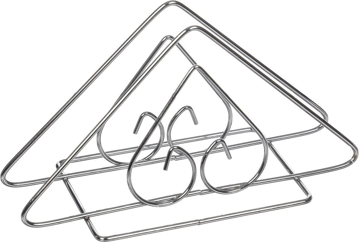 Салфетница Доляна Сердце, треугольная, 14 х 8 х 6 см