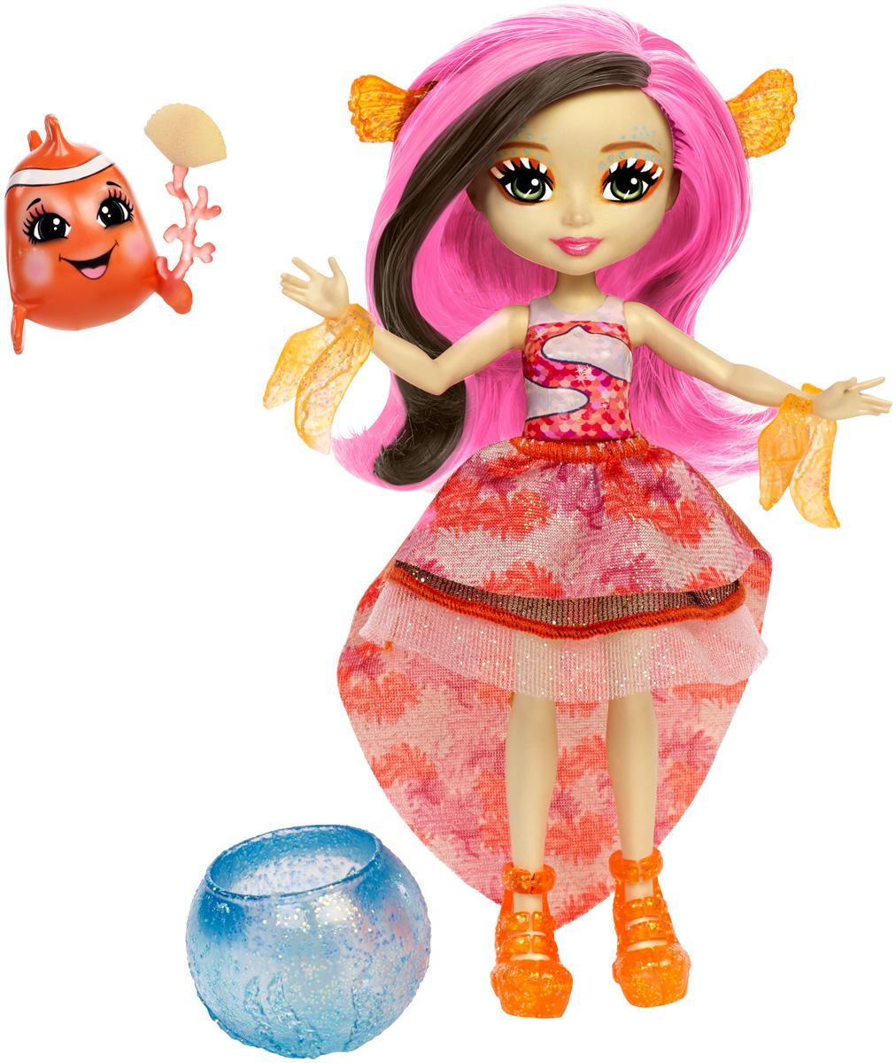 Enchantimals Игровой набор с куклой Морские подружки  друзьями цвет розовый