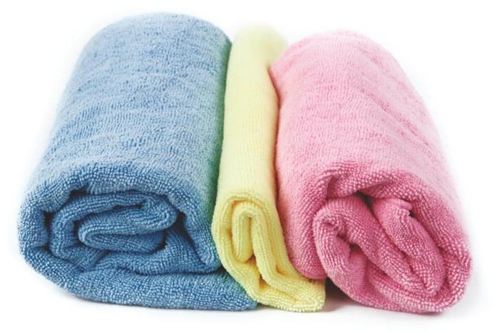 """Полотенце махровое KingCamp """"Camper Towel"""", цвет: голубой, 180 x 90 см"""