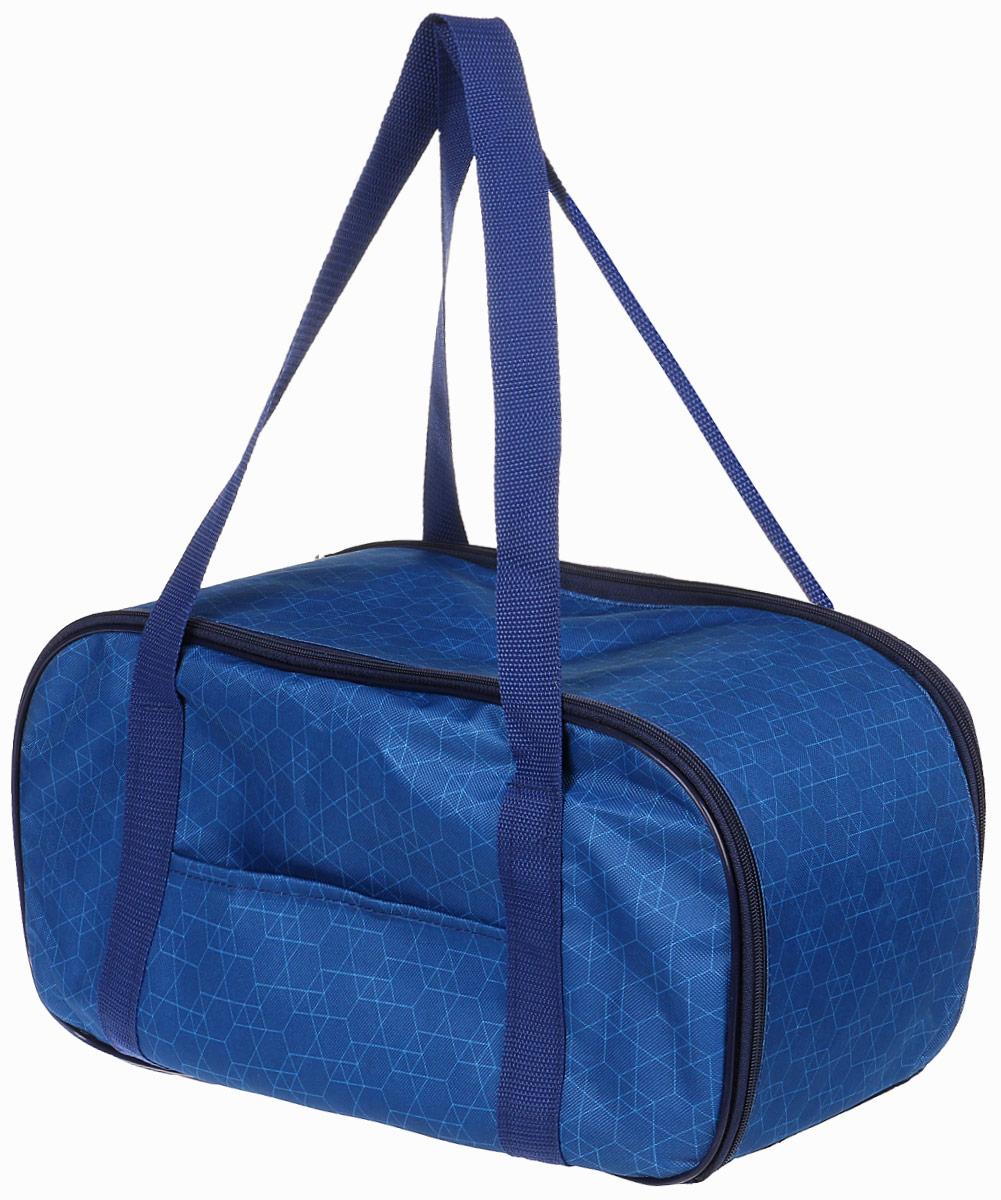 Сумка-переноска для животных Теремок, цвет: синий, 44 х 19 х 20 см сумка переноска для животных гамма стефани цвет синий 435 х 270 х 250 мм