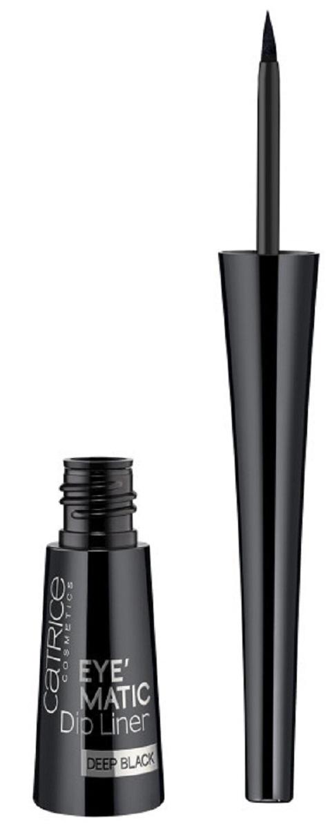 CatriceПодводка для глазEyeMaticDipLinerDeepBlack010суперчерная, цвет: черный catrice контур для глаз kohl kajal 040 white белый 1 1гр