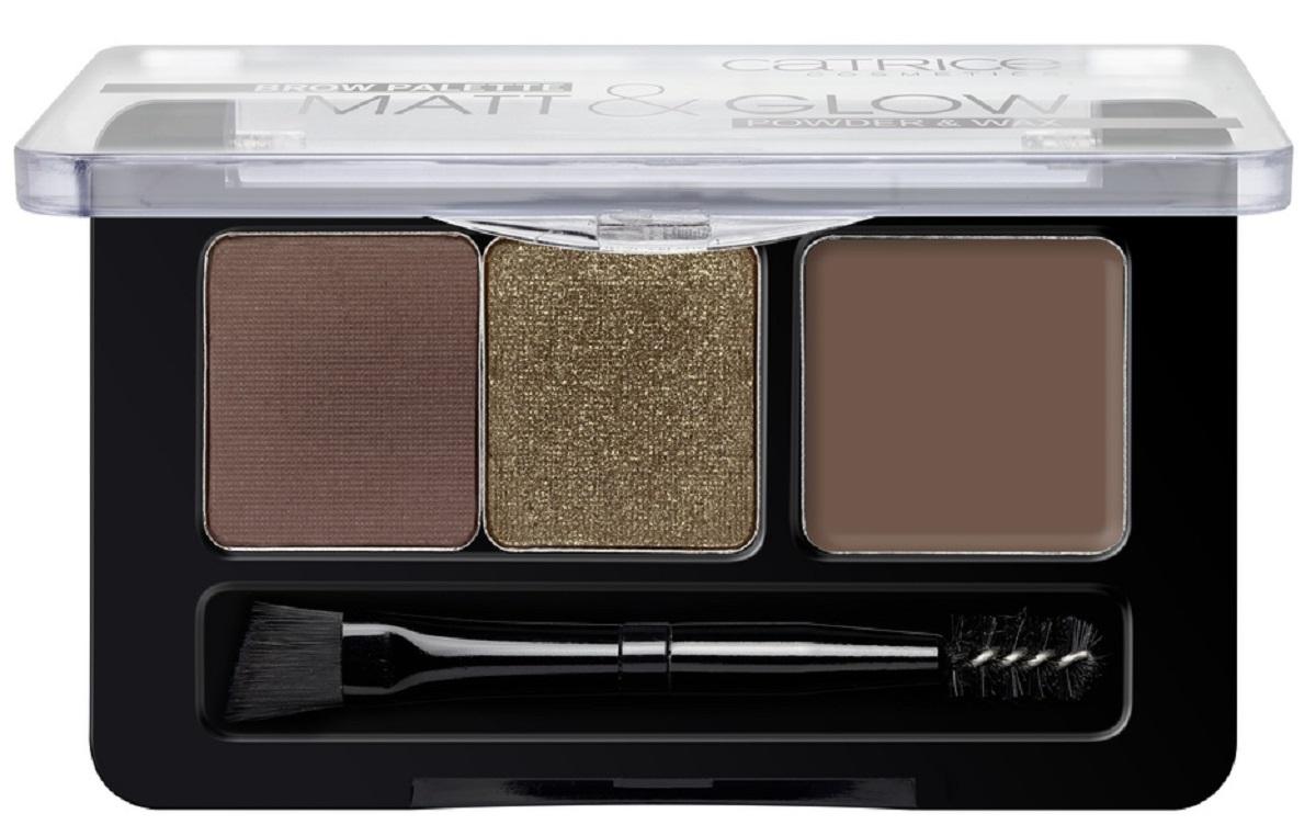 CatriceПалеткадля макияжа бровей: тени, воскBrow Palette Matt & Glow 020, цвет:темныйшоколад