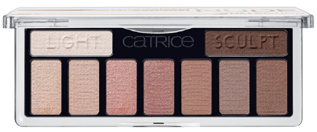 Catrice Тени для век 9 в 1 The Fresh Nude Collection Eyeshadow Palette 010, цвет: нюдовый тени для век catrice stylo eyeshadow pen 020 цвет 020 g old mc donald variant hex name cea98d