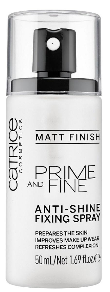 CatriceФиксирующийспрейдлямакияжа Prime And Fine Anti-Shine Fixing Spray, цвет: прозрачный amplified футболка