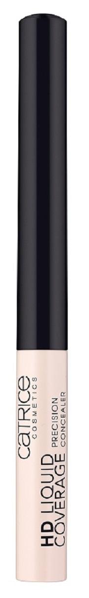 CatriceКонсилер Hd Liquid Coverage Precision Concealer 10 Light Beige, цвет: светло-бежевый228407Тончайшая кисточка позволяет с ювелирной точностью нанести стойкий и плотный консилер.
