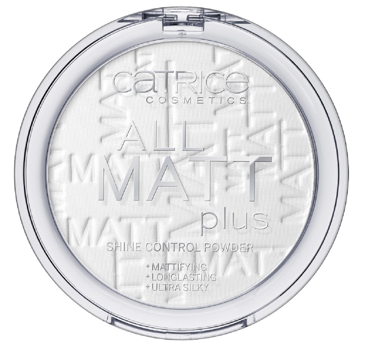 CatriceПудра компактная All Matt Plus Shine Control Powder 001, цвет: прозрачный