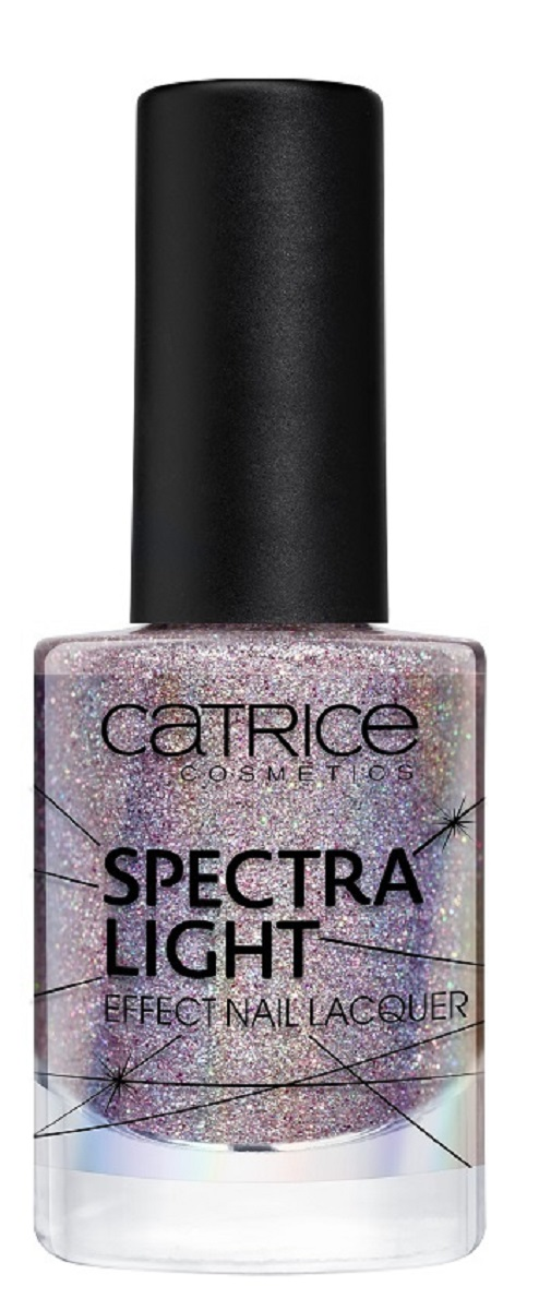 Catrice Лак для ногтей Spectra Light Effect Nail Lacquer 01, цвет: серебряный лак для ногтей orly permanent collection 464 цвет 464 purple crush variant hex name 8f258d
