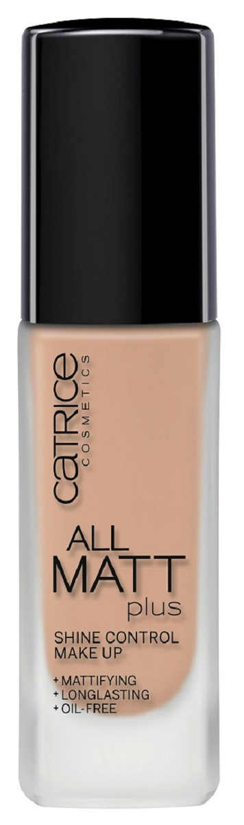 Catrice Основа тональная All Matt Plus Shine Control Make Up 020 Nude Beige, цвет: бежевый тональная основа catrice hd liquid coverage foundation 020 цвет 020 rose beige variant hex name f1c6a7