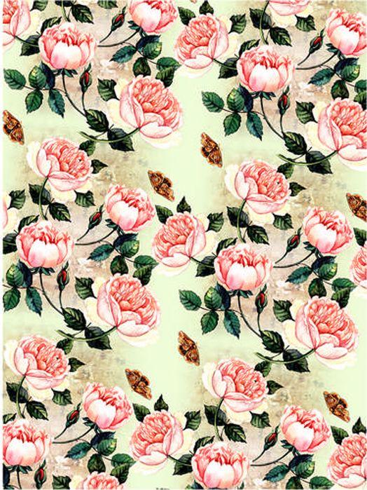 Рисовая бумага для декупажа Craft Premier Розы, формат А3 рисовая бумага для декупажа craft premier этнический узор формат а3