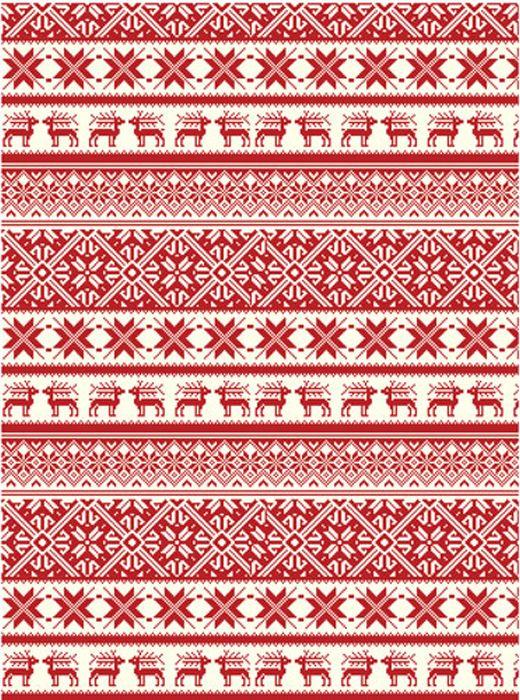 Рисовая бумага для декупажа Cadence - Craft Premier Рождество-245, формат А4