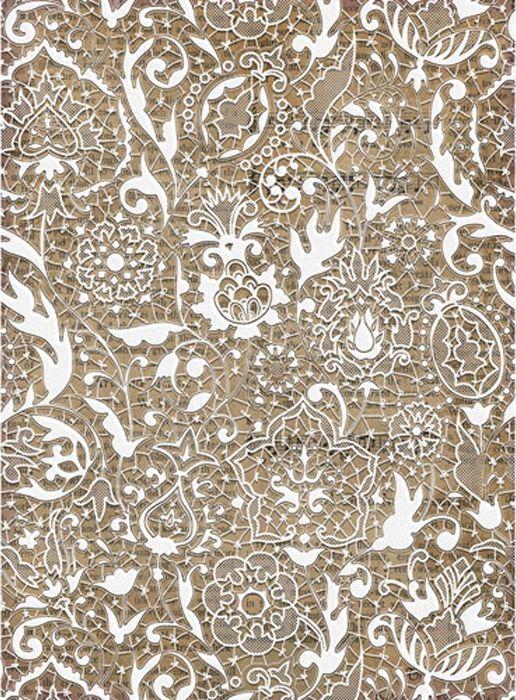 Рисовая бумага для декупажа Craft Premier Белое кружево, формат А4 рисовая бумага для декупажа craft premier а4 25г м бабулины фиалки cp05448 1