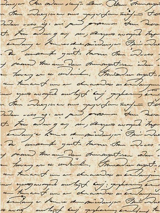Рисовая бумага для декупажа Cadence - Craft Premier Старинная рукопись, формат А4 рисовая бумага для декупажа новобрачные craft premier a3 25г м
