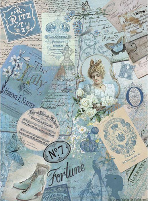 Рисовая бумага для декупажа Craft Premier Дорогие воспоминания, формат А4 рисовая бумага для декупажа craft premier пасхальный декор 28 х 38 см