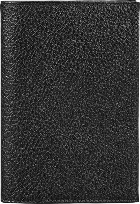 Фото Обложка для паспорта женская Fabula, цвет: черный. O.1.BK