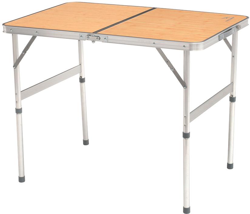 Компактный и легкий стол с алюминиевым каркасом, удобной ручкой для переноски и замком-фиксатором идеально подойдет для отдыха на природе. Складывается и раскладывается за считанные секунды, не требует дополнительной сборки. Несмотря на свой размер, стол достаточно прочный. Выдерживает нагрузку до 30 кг. Складывается и раскладывается за считанные секунды, не требует дополнительной сборки, легко носить и перевозить, удобная ручка для переноски, замок-фиксатор.