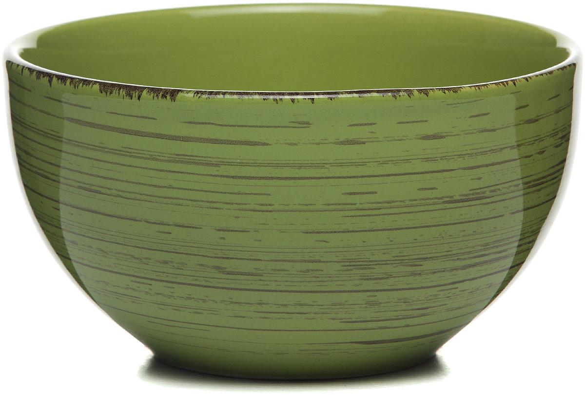 Салатник зеленый 14*14*8 см