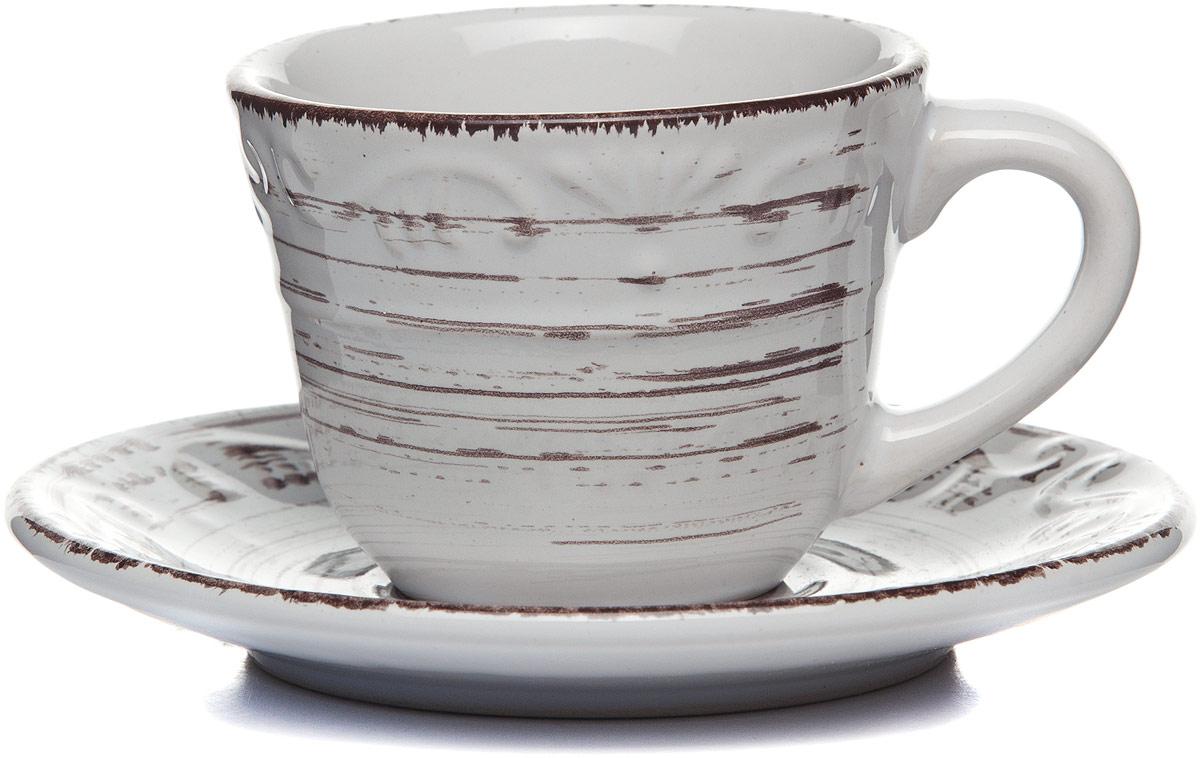 Чайная пара Gotoff , цвет: белый, 110 мл цена