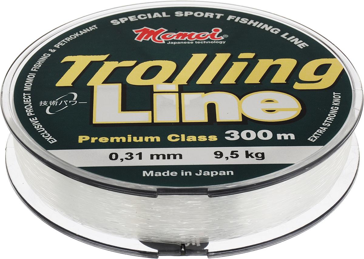Леска Momoi Fishing Trolling Line, 0,31 мм, 9,5 кг, 300 м
