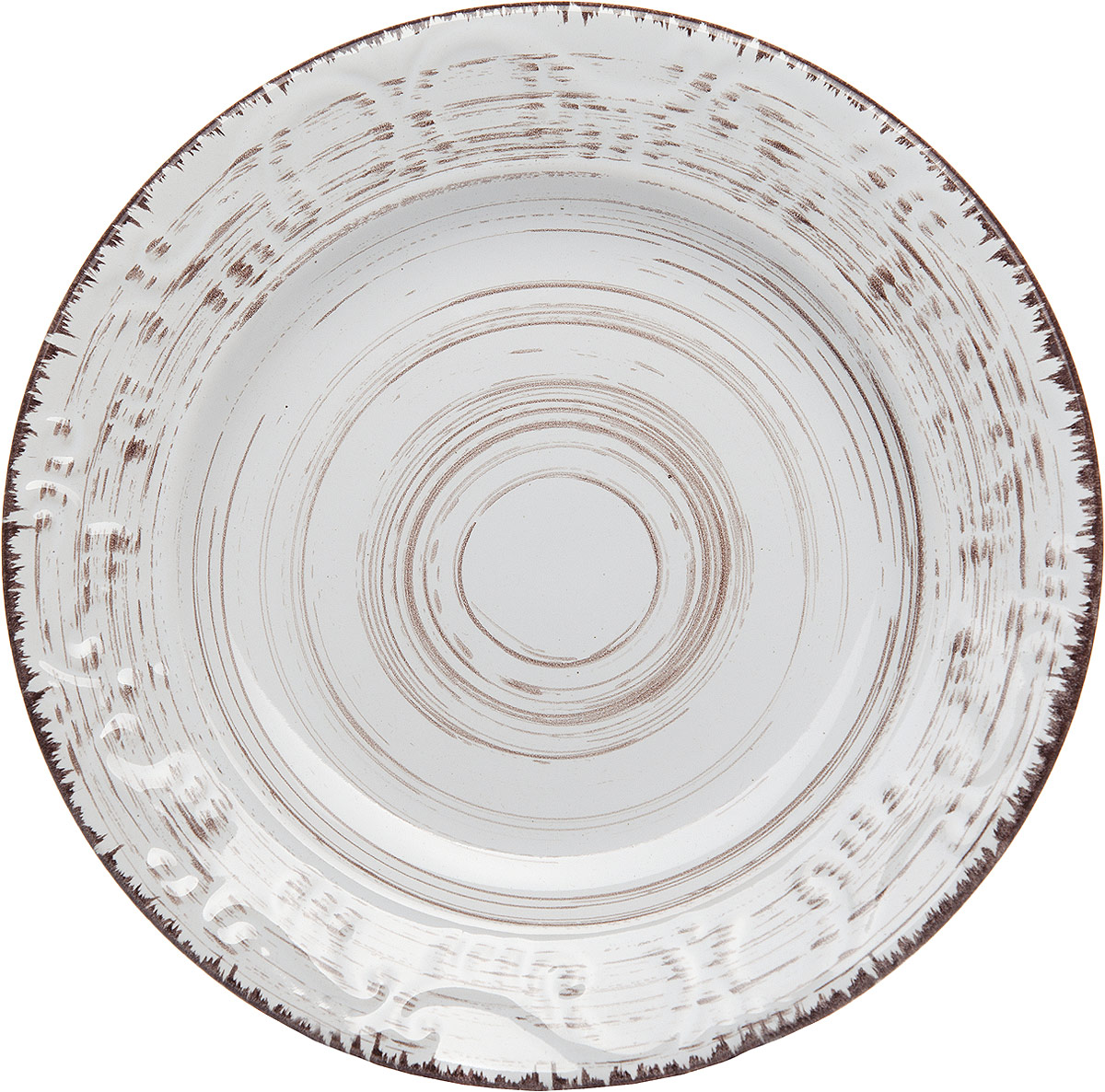 Тарелка Gotoff , цвет: белый, диаметр 20,5 см тарелка gotoff 19 х 19 см wtc 631