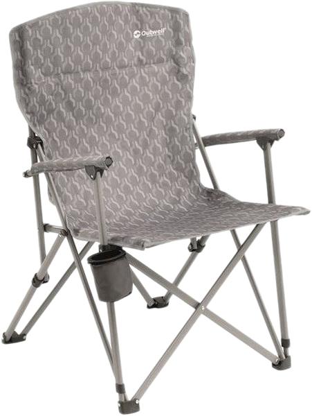 Кресло складное Outwell Spring Hills Silver, 65 х 70 х 97 см