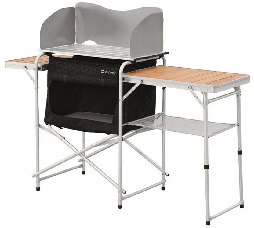Стол складной Outwell Vancouver Kitchen Table, 143 х 47 х 74/81/105 см