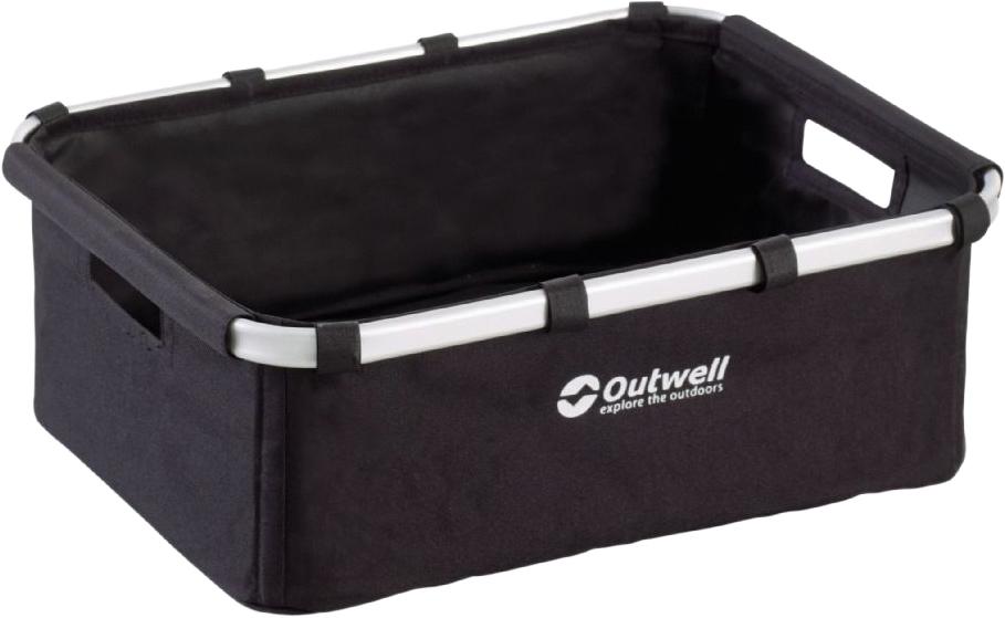 Корзина складная Outwell Folding Storage Basket M, 43 х 33 х 15 см grid print round storage basket