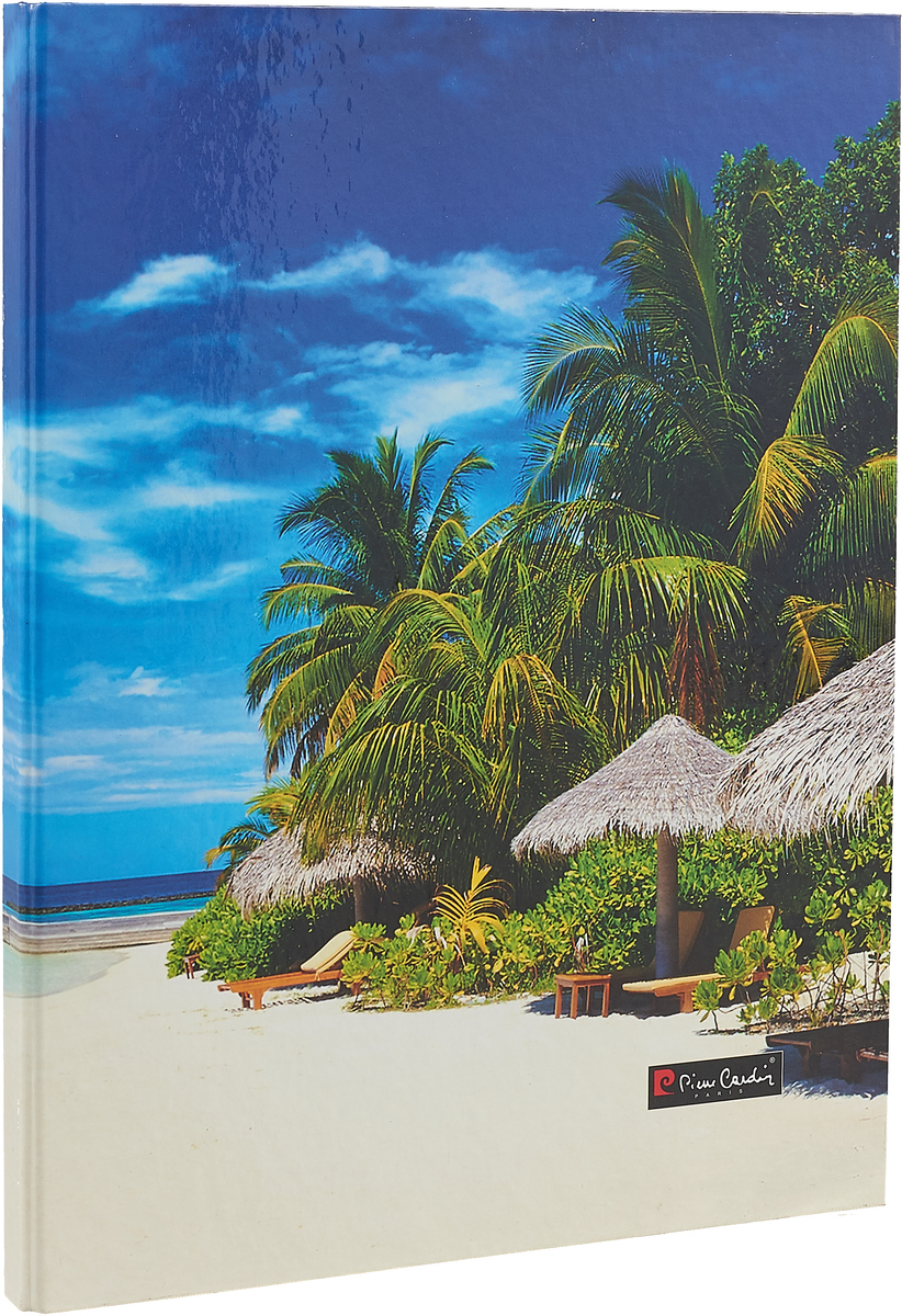 Pierre Cardin Папка с металлическим прижимом Riviera Lagune Пальмы