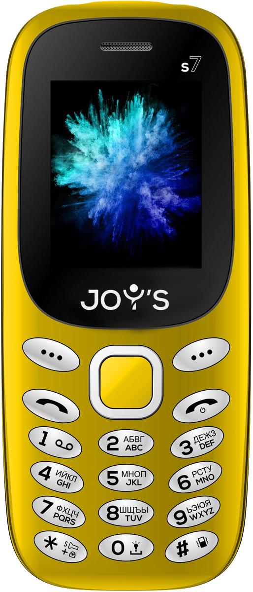 Joys S7 DS, Yellow сотовый телефон archos sense 55dc 503438