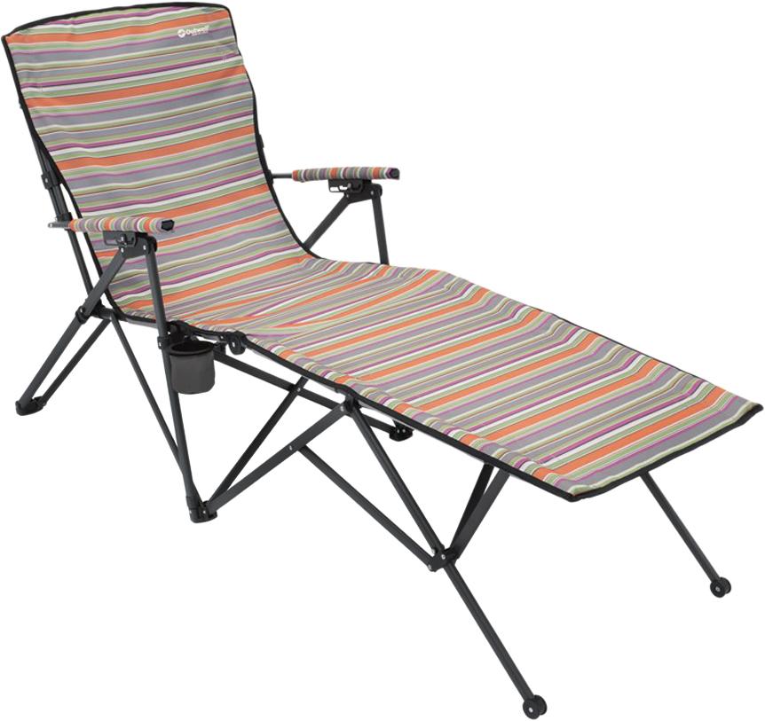 Кресло-шезлонг Outwell Leona Summer, 54/65 х 173 х 106 см