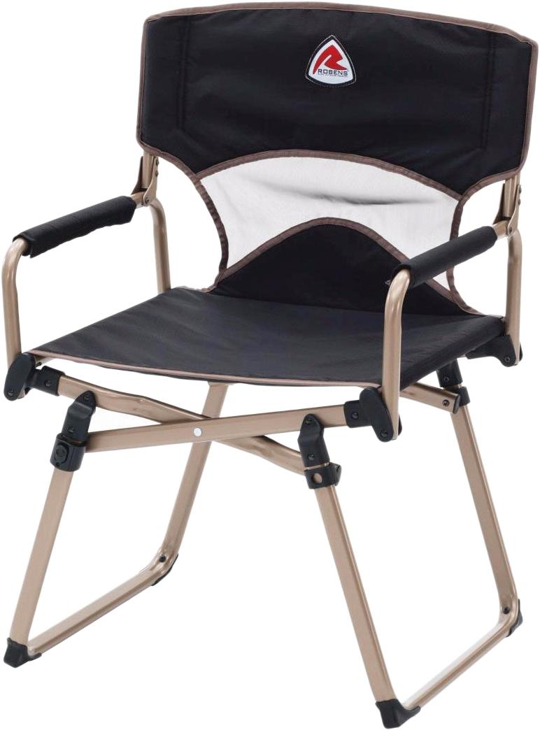 Удобное кемпинговое кресло с каркасом из алюминиевого сплава.