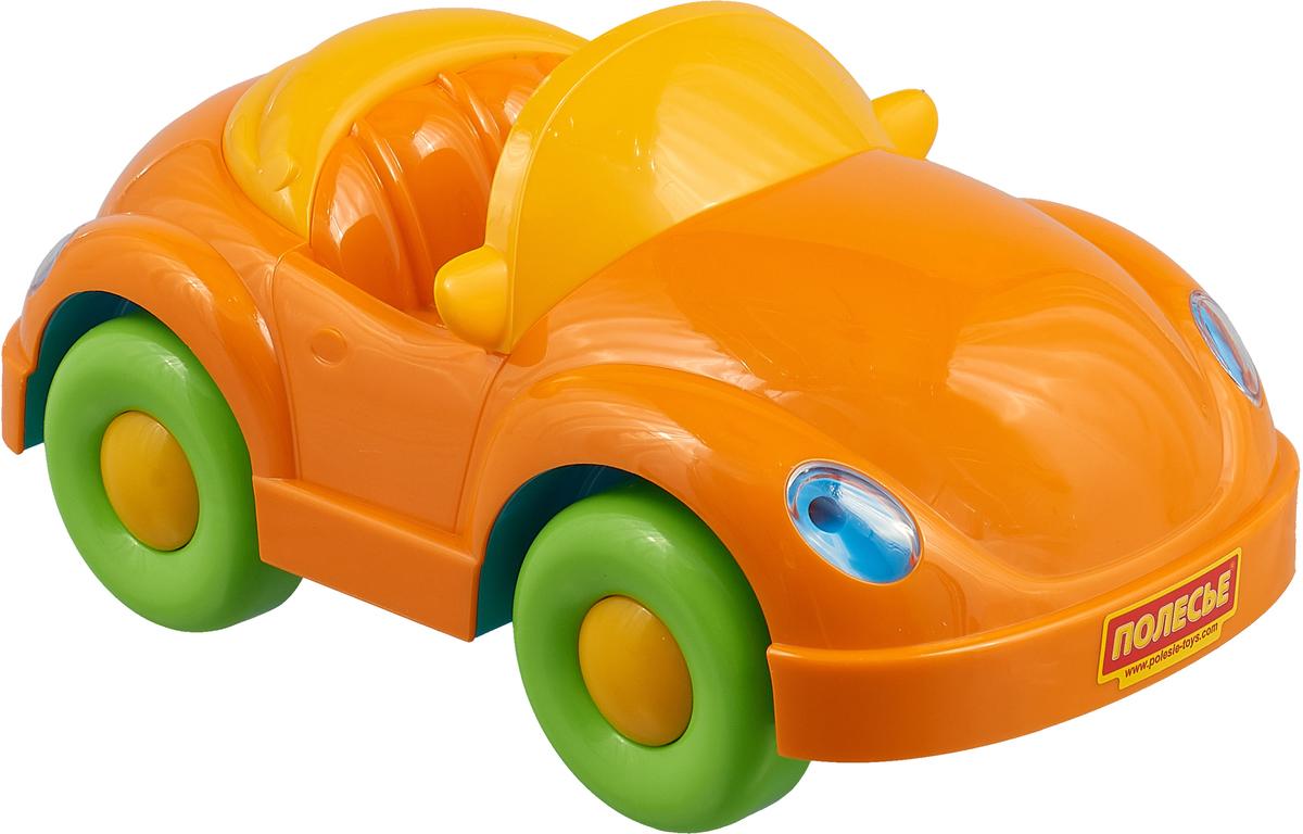 Полесье Автомобиль Альфа цвет оранжевый зеленый игрушки для ванны полесье паром балтик автомобиль мини 4 шт
