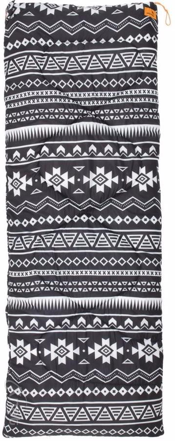 Спальный мешок Easy Camp Tribal Black & White, 190 x 75 см tribal print swing dress