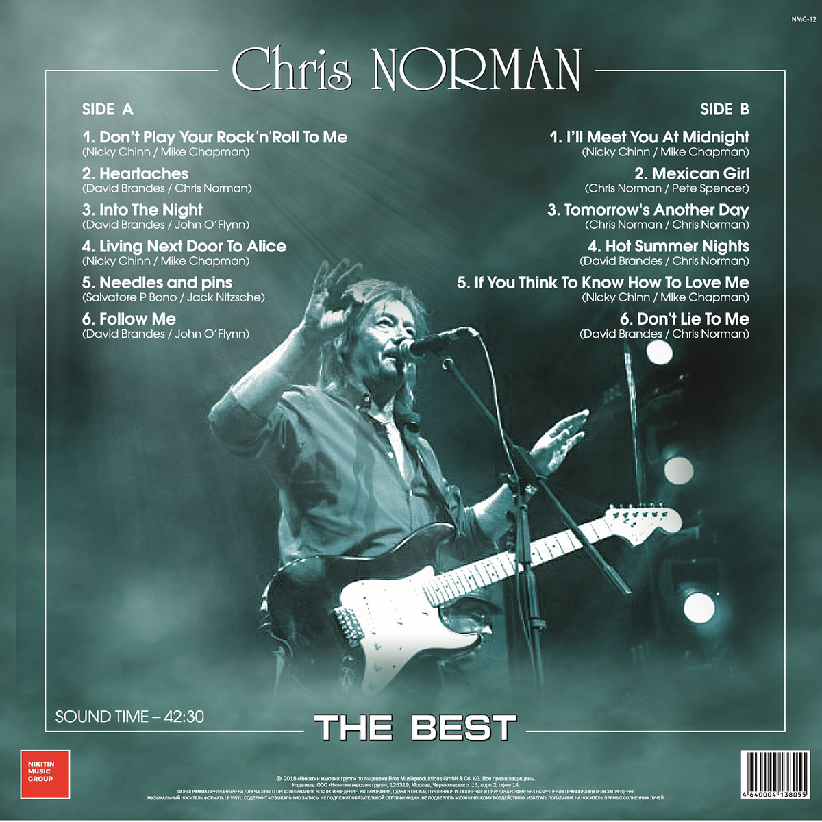 Chris Norman:  The Best (LP) . ...