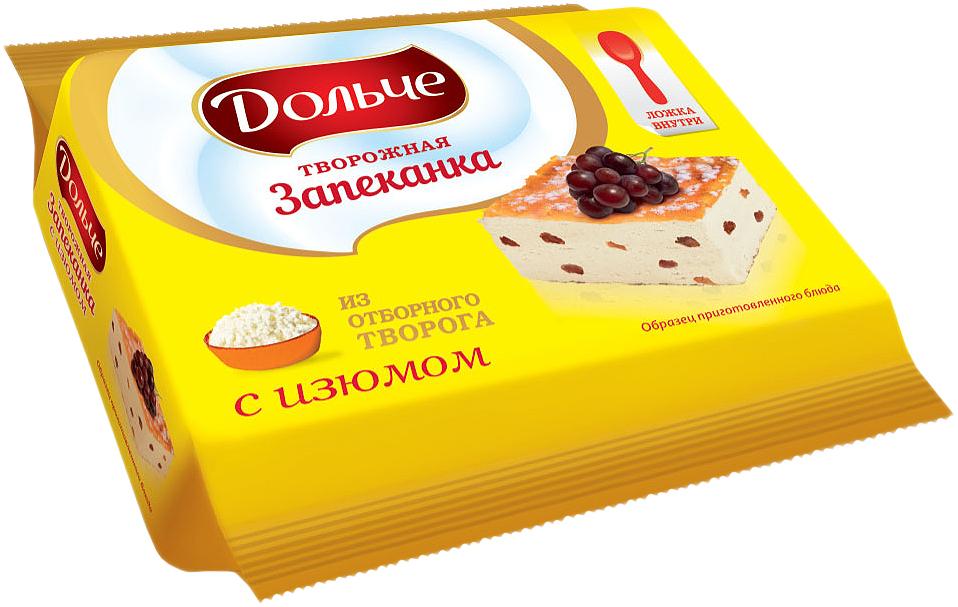 President Дольче Запеканка творожная с изюмом 5,5%, 165 г