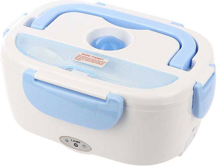 Материал: пищевой пластик.Питание: 12V/24V.Мощность: 40 Вт.Время разогрева пищи: 20 минут.Шнур питания – от прикуривателя.Вместительность: 1,2 л.Вес: 500 г. Меры предосторожности: Не погружать корпус в воду.  ·Не разогревать в микроволновой печи.  ·Не ставить в духовку.  ·Не хранить в холодильнике или морозилке.