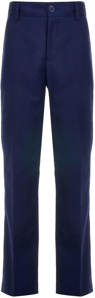 Брюки для мальчика Button Blue, цвет: синий. 218BBBS63021000. Размер 122
