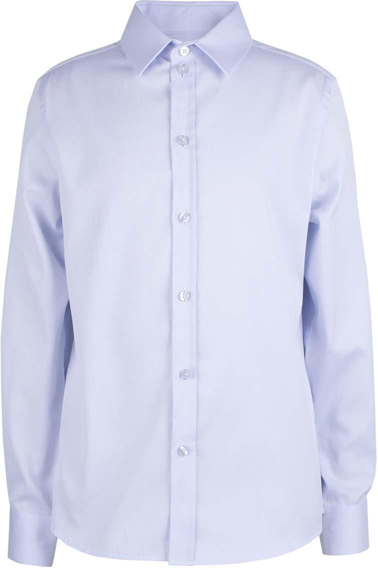 Рубашка для мальчика Button Blue, цвет: голубой. 218BBBS23011800. Размер 164