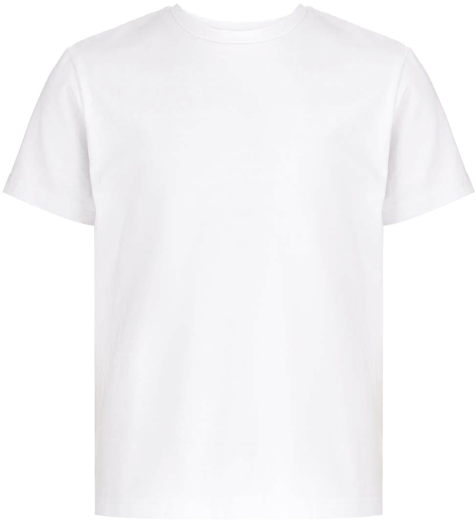 Трикотажная футболка для занятий физкультурой от Button Blue подойдет и мальчикам, и девочкам. Футболка белого цвета с коротким рукавом универсальна - ее можно использовать не только в качестве спортивной формы, но и как повседневную одежду. В нашем интернет-магазине вы можете купить недорогую футболку из коллекции «Школьная форма 2018» с доставкой по всей России.