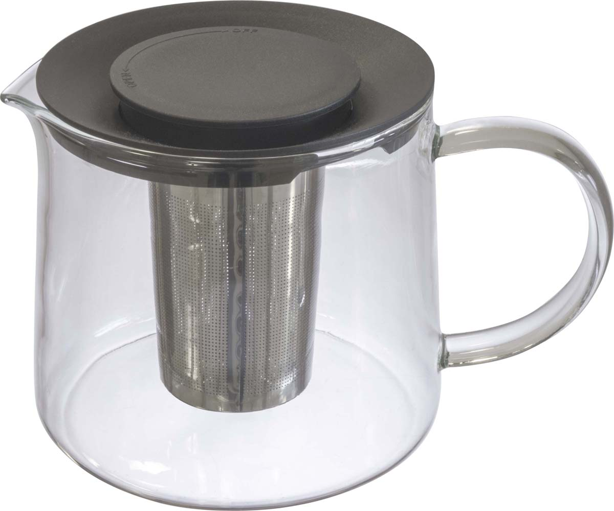 Классический заварочный чайник из боросиликатного термостойкого стекла. Прекрасно подходит для приготовления чая и заваривания трав.