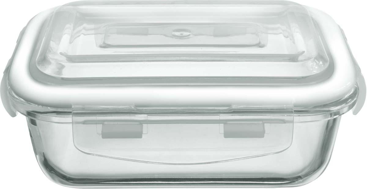 Контейнер из жаропрочного стекла с пластиковой крышкой прекрасно подходит как для запекания, так и для хранения продуктов. Герметичная крышка поможет сохранить вкус и аромат блюда, а также делает контейнер удобным в транспортировке.