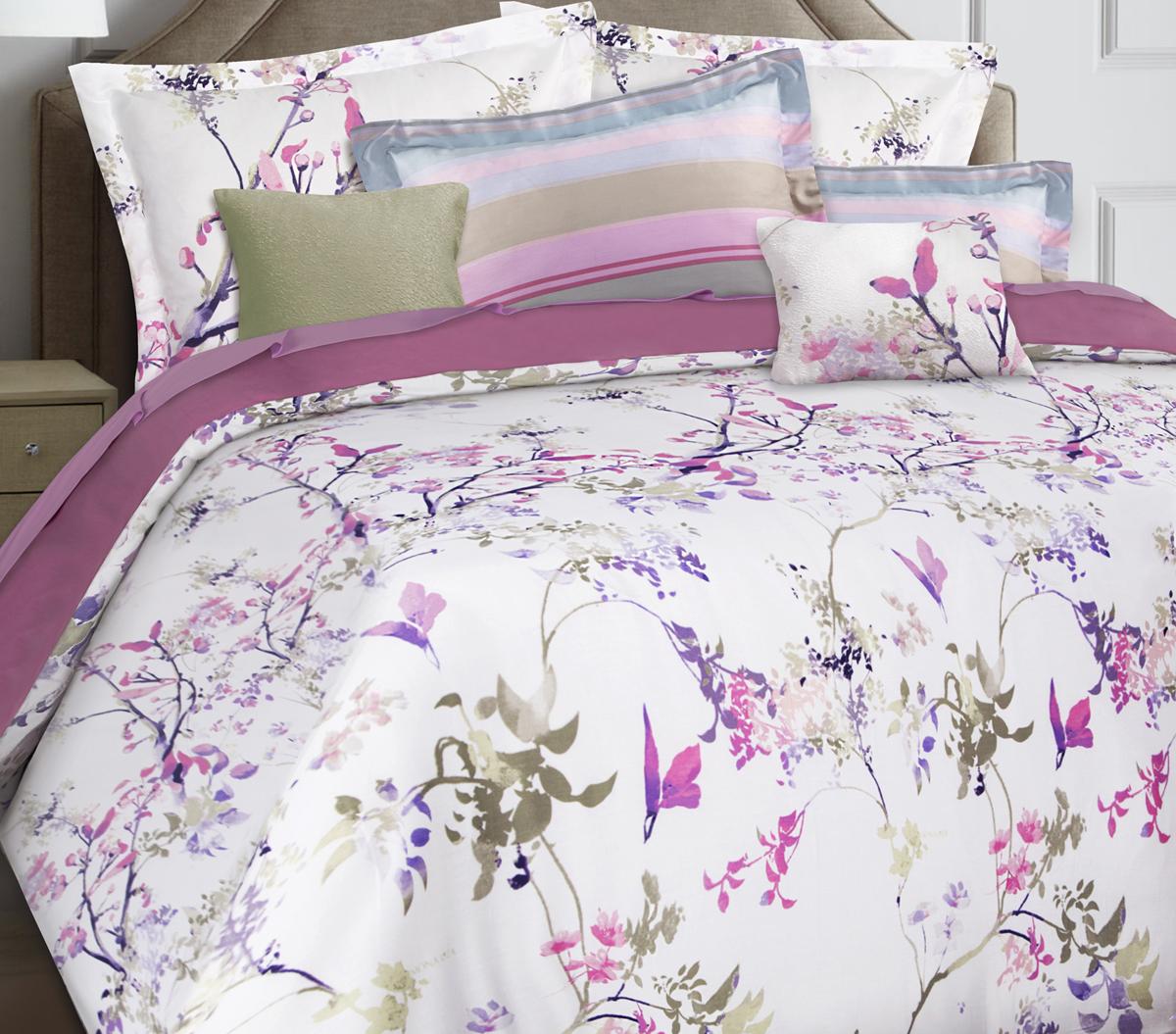 Комплект белья Mona Liza Premium Atelier 4 Seasons, семейный, наволочки 50х70, 70х70. 5045-002 комплект белья mona liza premium atelier ikat 1 5 спальный наволочки 70x70 5047 005