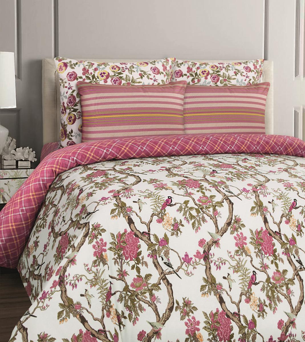 Комплект белья Mona Liza British Bristol, евро, наволочки 70x70. 552109-69 комплект белья mona liza premium atelier ikat 1 5 спальный наволочки 70x70 5047 005