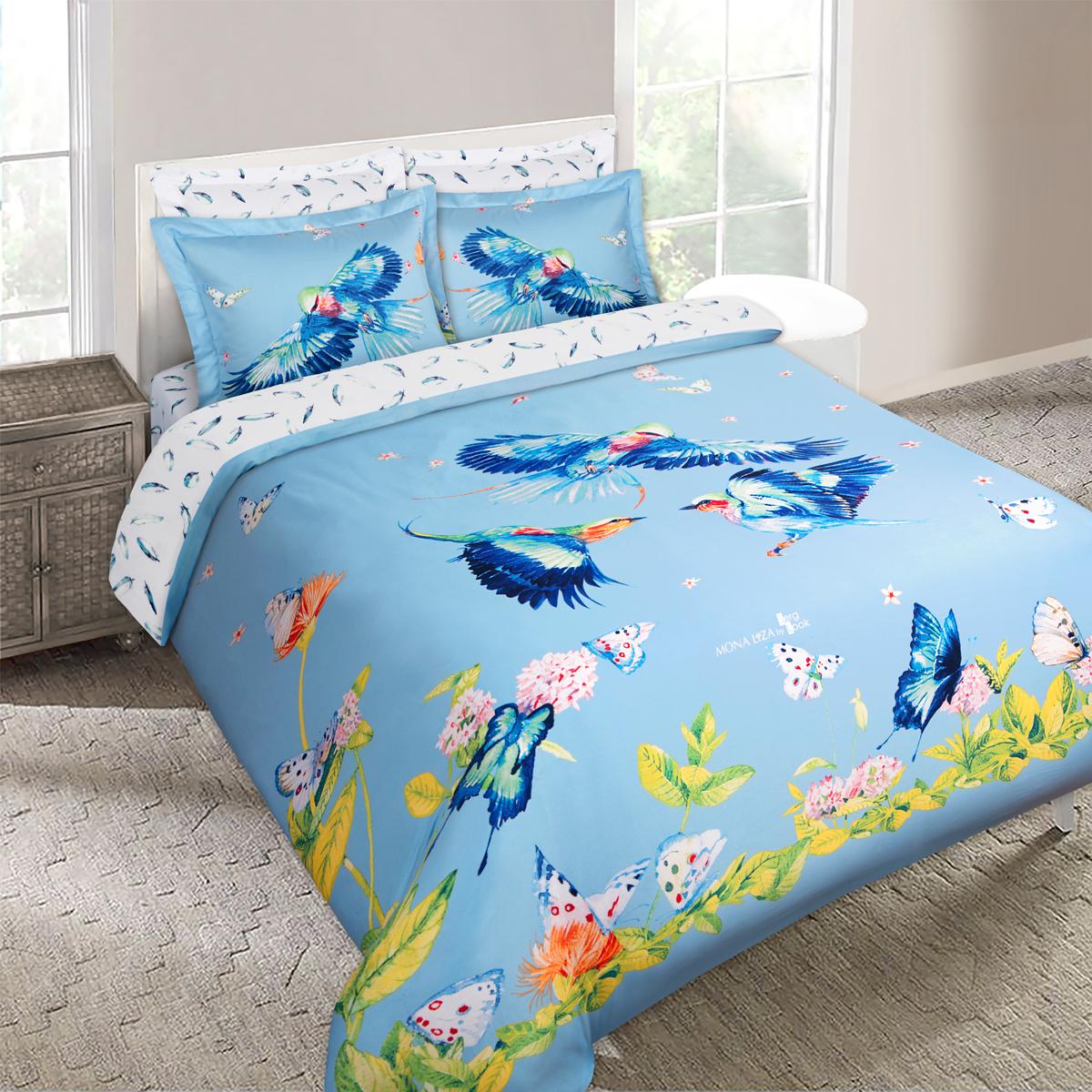 """Комплект белья Mona Liza """"SKY"""", 2-спальный, наволочки 50х70, 70х70. 5761-3"""