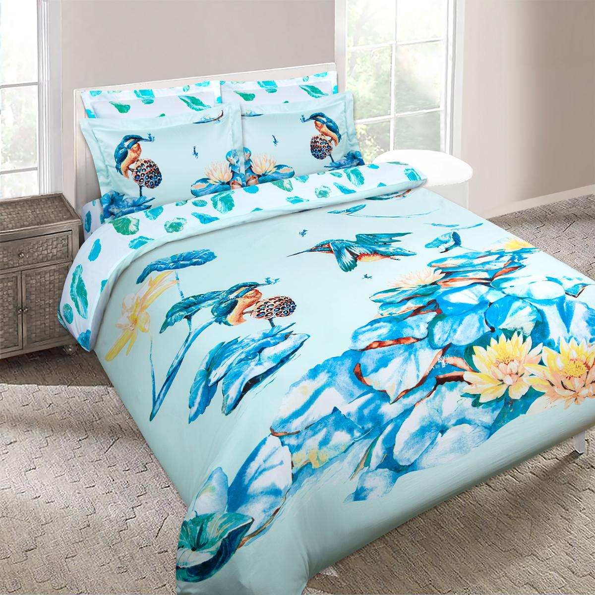 """Комплект белья Mona Liza """"SKY"""", 2-спальный, наволочки 50х70, 70х70. 5761-4"""