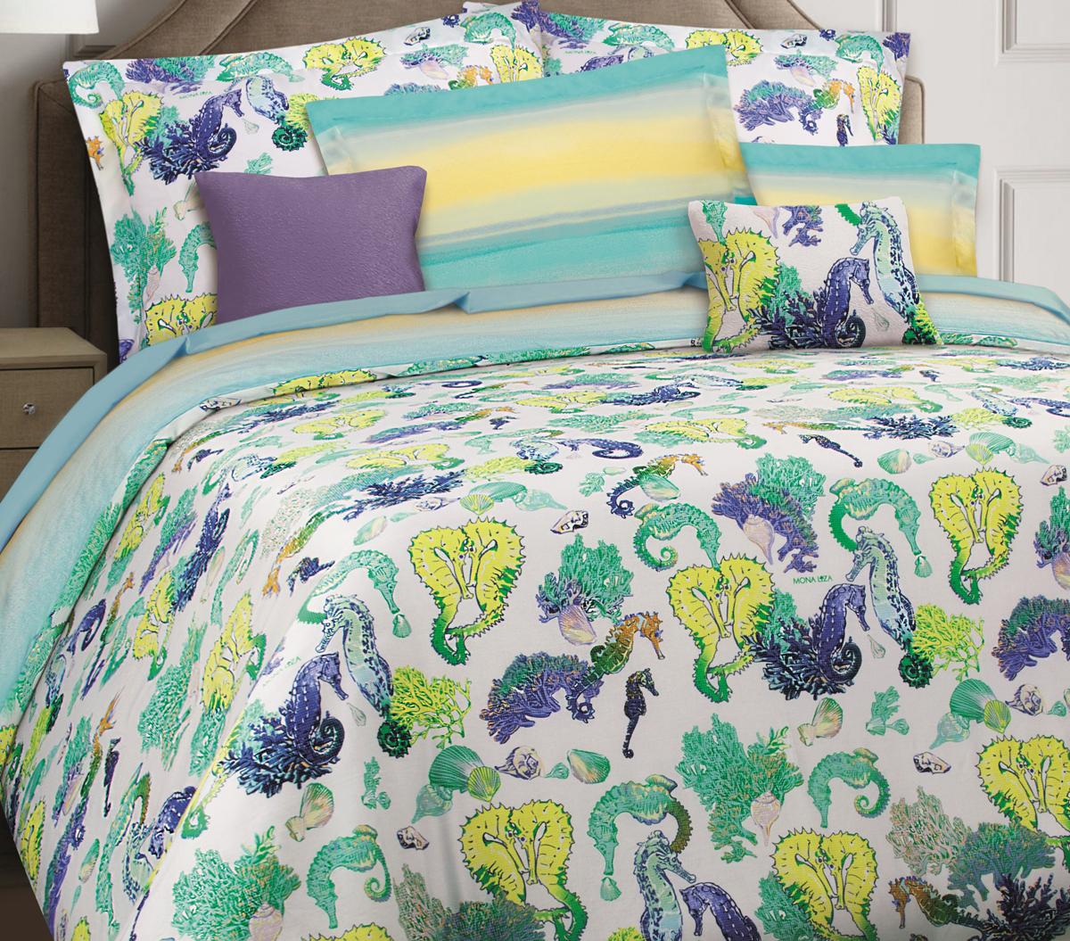 Комплект белья Mona Liza Premium Atelier Sirena, 2-спальный, наволочки 50х70, 70х70. 5044-0014 цена