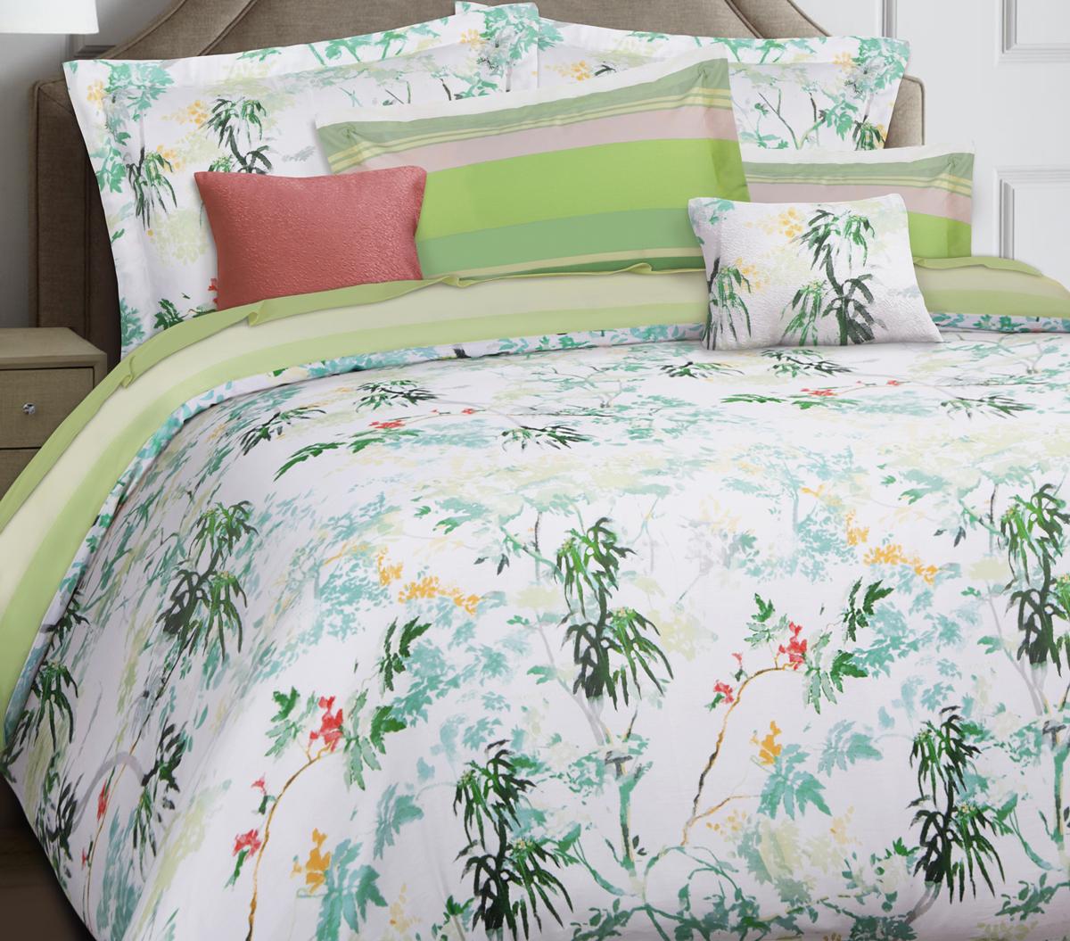 Комплект белья Mona Liza Premium Atelier 4 Seasons, 2-спальный, наволочки 50х70, 70х70. 5044-003 цена
