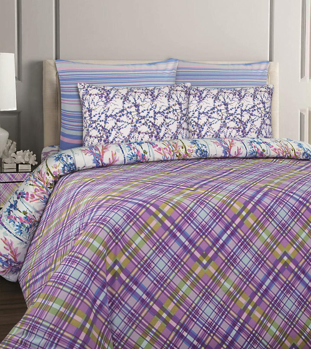 Комплект белья Mona Liza British Cheshir, 2-спальный, наволочки 70x70. 552203-72 комплекты белья